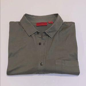 Hugo Boss- Men's short sleeve button up